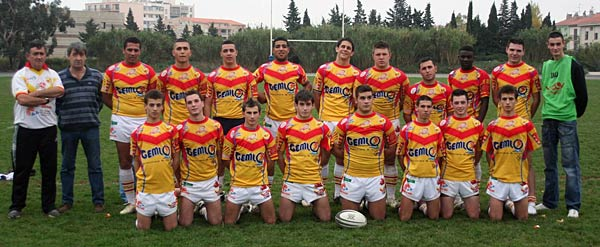 Juniors du XIII CATALAN 2006-2007